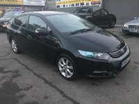 2011 HONDA INSIGHT 1.3 IMA ES 5d AUTO 100 BHP IN BLACK WITH ONLY 61000 MILES AND ONLY 2 OWNERS. £5999.00