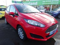 USED 2013 13 FORD FIESTA 1.2 STYLE 5d 81 BHP 2 OWNERS FROM NEW....REAR PARKING SENSORS....£0 DEPOSIT FINANCE AVAILABLE