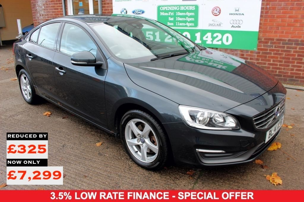 2014 14 VOLVO S60 2.0 D3 BUSINESS EDITION 4d 134 BHP
