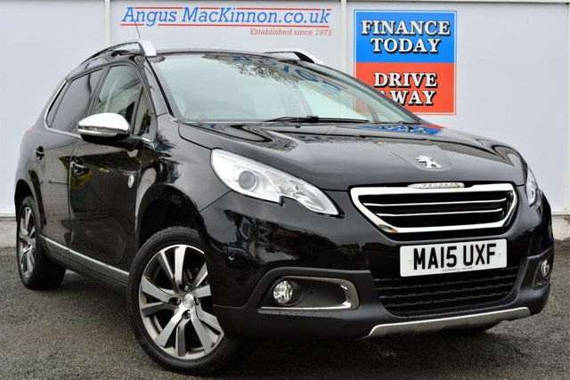 2015 15 PEUGEOT 2008 1.6 E-HDI CROSSWAY 5d Family Hatchback