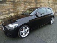 2013 BMW 1 SERIES 2.0 118D M SPORT 3d 141 BHP £11740.00