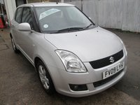 2009 SUZUKI SWIFT 1.5 GLX 5d 100 BHP £3195.00