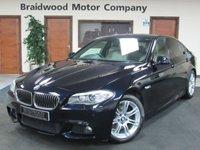 USED 2012 BMW 5 SERIES 2.0 520D M SPORT 4d AUTO 181 BHP