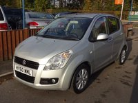 2010 SUZUKI SPLASH 1.2 GLS PLUS 5dr, Full Dealer Service History £4290.00