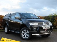 USED 2012 12 MITSUBISHI L200 2.5 DI-D 4X4 BARBARIAN LB DCB AUTOMATIC ( NO VAT ) * ONE OWNER FROM NEW * NEW CAMBELT * FULL SERVICE HISTORY *