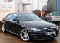 USED 2010 59 AUDI A4 2.0 TDI S LINE 4d 141 BHP LOW MILEAGE | XENONS | 1/2 LEATHER