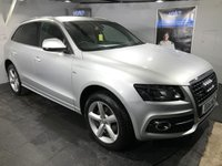 USED 2011 61 AUDI Q5 2.0 TDI QUATTRO S LINE 5d 141 BHP Bluetooth  : Full leather upholstery    :    Audi Hill Descent control system    :    Rear parking sensors   : Roof-Rails   :   Fully stamped Audi service history
