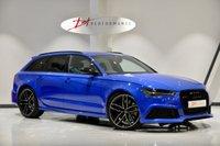 USED 2015 15 AUDI RS6 AVANT 4.0 RS6 AVANT TFSI V8 QUATTRO 5d AUTO 553 BHP NOGARO BLUE  1 OWNER FULL AUDI HISTORY