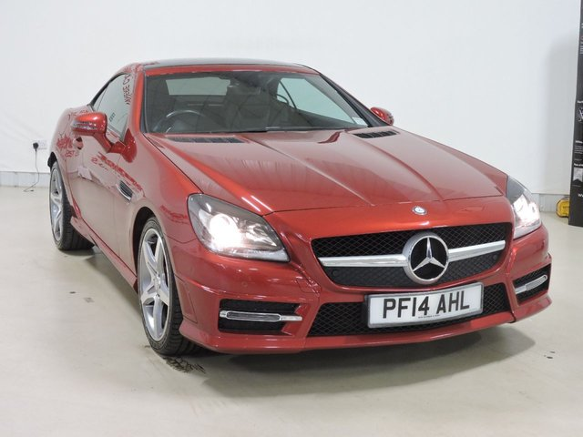 View our 2014 14 MERCEDES-BENZ SLK 2.1 SLK250 CDI BLUEEFFICIENCY AMG SPORT 2d 204 BHP
