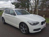 2013 BMW 1 SERIES 2.0 116D SPORT 5d 114 BHP £8690.00