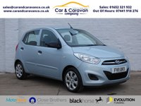 USED 2011 11 HYUNDAI I10 1.2 CLASSIC 5d 85 BHP Full Service History One Owner 0% Deposit Finance Available