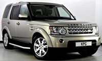 USED 2012 62 LAND ROVER DISCOVERY 4 3.0 SD V6 GS 4X4 5dr Auto [8] F/S/H (6 Stamps), Immaculate!