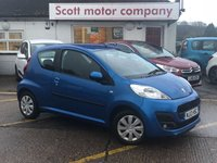 USED 2013 13 PEUGEOT 107 1.0 Active 3 door