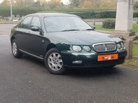 USED 2001 51 ROVER 75 1.8 CLUB 4d 118 BHP