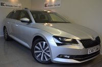 2017 SKODA SUPERB 1.6 SE L EXECUTIVE TDI GREENLINE 5d 118 BHP £17675.00