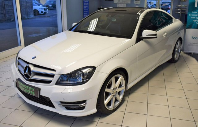 2014 54 MERCEDES-BENZ C CLASS 2.1 C250 CDI AMG SPORT EDITION PREMIUM PLUS 2d AUTO 202 BHP STOP/START