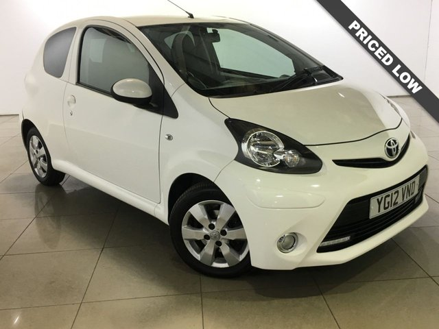 View our 2012 12 TOYOTA AYGO 1.0 VVT-I FIRE MM AC 3d 67 BHP