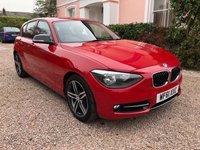 2011 BMW 1 SERIES 1.6 116I SPORT 5d 135 BHP £8995.00