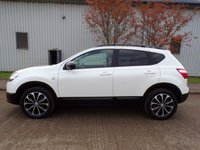 USED 2013 13 NISSAN QASHQAI 1.6 360 5d AUTO 117 BHP AUTOMATIC 360 CAMERAS SAT NAV GLASS ROOF PART EXCHANGE AVAILABLE / ALL CARDS / FINANCE AVAILABLE