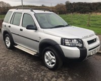 2005 LAND ROVER FREELANDER 2.0 TD4 S 4x4 STATION WAGON 5d 110 BHP £3650.00