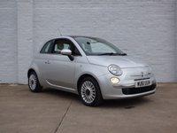 2011 FIAT 500 1.2 LOUNGE 3d 69 BHP £4650.00