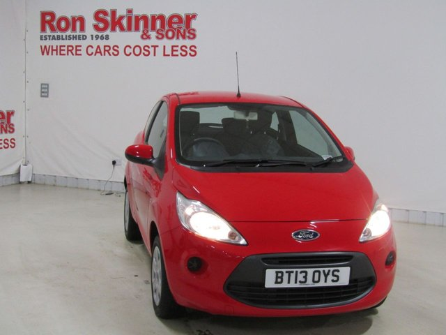 View our 2013 13 FORD KA 1.2 EDGE 3d 69 BHP