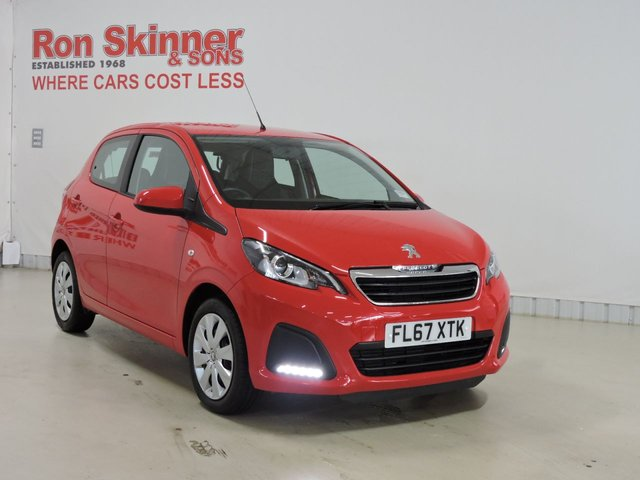 View our 2017 67 PEUGEOT 108 (34)       1.0 ACTIVE 5d 68 BHP