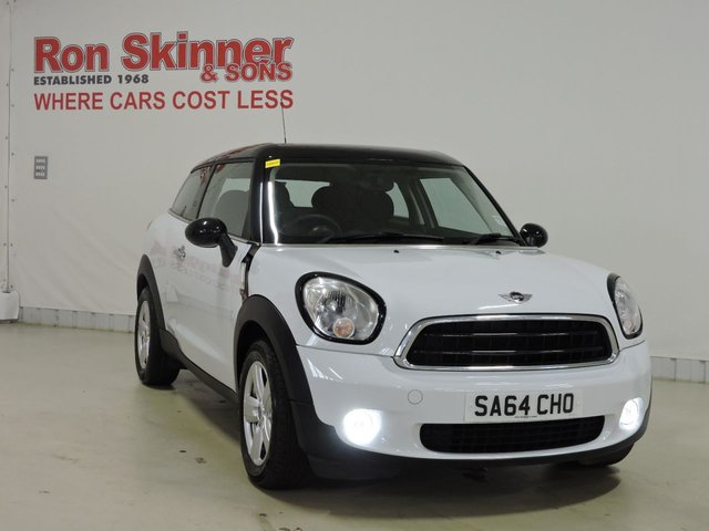 View our 2014 64 MINI PACEMAN 1.6 COOPER 3d 122 BHP