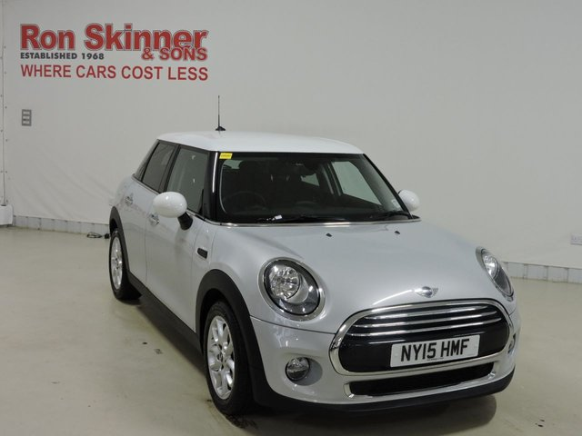 View our 2015 15 MINI HATCH COOPER 1.5 COOPER D 5d 114 BHP with CHILI Pack + Rear Park Sensors + Rear Privacy Glass