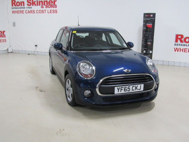 View our 2015 65 MINI HATCH ONE 1.2 ONE 5d 101 BHP with Pepper Pack