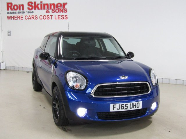 View our 2015 65 MINI PACEMAN 1.6 COOPER D ALL4 3d 112 BHP with CHILI Pack + Bonnet Stripes [Black]