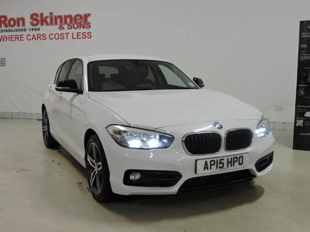View our 2015 15 BMW 1 SERIES 1.5 116D SPORT 5d 114 BHP