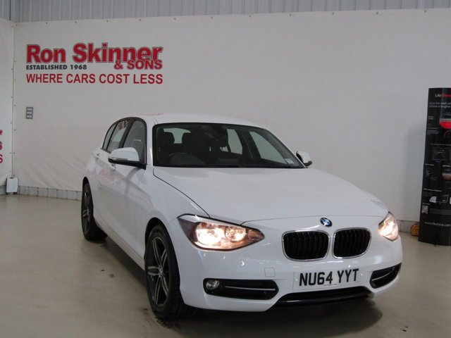 View our 2014 64 BMW 1 SERIES 1.6 116I SPORT 5d 135 BHP with rear parking distance control
