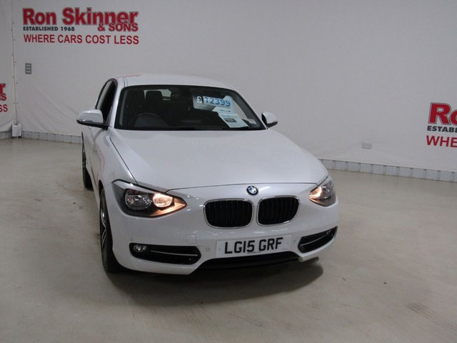 View our 2015 15 BMW 1 SERIES 1.6 116I SPORT 5d 135 BHP with Driver Comfort Pack + Park Distance Control [Front and Rear]