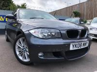 USED 2008 08 BMW 1 SERIES 2.0 118d M Sport 5dr AUTOMATIC BMW WITH SERVICE HISTORY