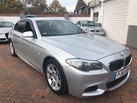2011 BMW 5 SERIES 2.0 520D M SPORT 4d AUTO 181 BHP £10795.00