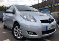 USED 2011 11 TOYOTA YARIS  1.33 T Spirit Multimode 5dr SMALL AUTOMATIC + LOW ROAD TAX