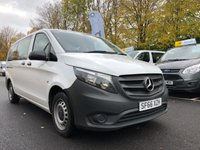 USED 2016 66 MERCEDES-BENZ VITO 1.6 111 BLUETEC TOURER PRO 5d 114 BHP All Vehicles with minimum 6 months Warranty, Van Ninja Health Check and cannot be beaten on price!