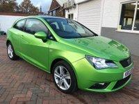 2013 SEAT IBIZA 1.4 TOCA 3d 85 BHP £5495.00