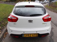 USED 2012 62 KIA RIO 1.4 2 ECODYNAMICS 5d 107 BHP ++ VERY LOW MILEAGE+1 OWNER FROM NEW++