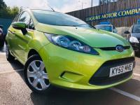 USED 2009 59 FORD FIESTA  1.25 Style + 5dr LOW MILEAGE