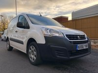 USED 2016 66 PEUGEOT PARTNER 1.6 BLUE HDI PROFESSIONAL L1 1d 100 BHP All Vehicles with minimum 6 months Warranty, Van Ninja Health Check and cannot be beaten on price!