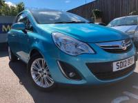 USED 2012 12 VAUXHALL CORSA 1.2 i 16v SE 3dr (a/c) HIGH SPECIFICATION