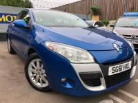 USED 2011 61 RENAULT MEGANE 1.5 TD Expression 3dr ECONOMICAL + LOW ROAD TAX.