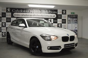 2012 BMW 1 SERIES 1.6 116I SPORT 3d 135 BHP £7888.00