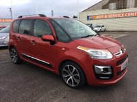 USED 2014 14 CITROEN C3 PICASSO 1.6 PICASSO EXCLUSIVE HDI 5d 91 BHP FSH * LOW MILEAGE * GOT BAD CREDIT * WE CAN HELP *