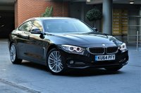 2014 BMW 4 SERIES 2.0 420D XDRIVE LUXURY GRAN COUPE 4d AUTO 181 BHP £14990.00