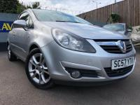 USED 2008 57 VAUXHALL CORSA  1.2 i 16v SXi 3dr GREAT FIRST CAR