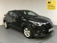 USED 2017 17 TOYOTA CHR 1.8 ICON 5d AUTO 122 BHP SERVICE HISTORY - HYBRID - 1 OWNER - REAR CAMERA - AIR CON - BLUETOOTH - CRUISE - DAB - AUX / USB