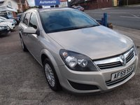 USED 2009 59 VAUXHALL ASTRA 1.8 LIFE A/C 5d AUTO 140 BHP
